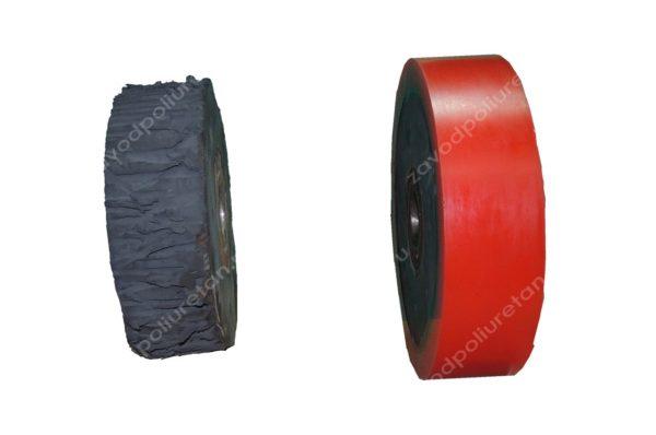 Восстановление колес большого диаметра